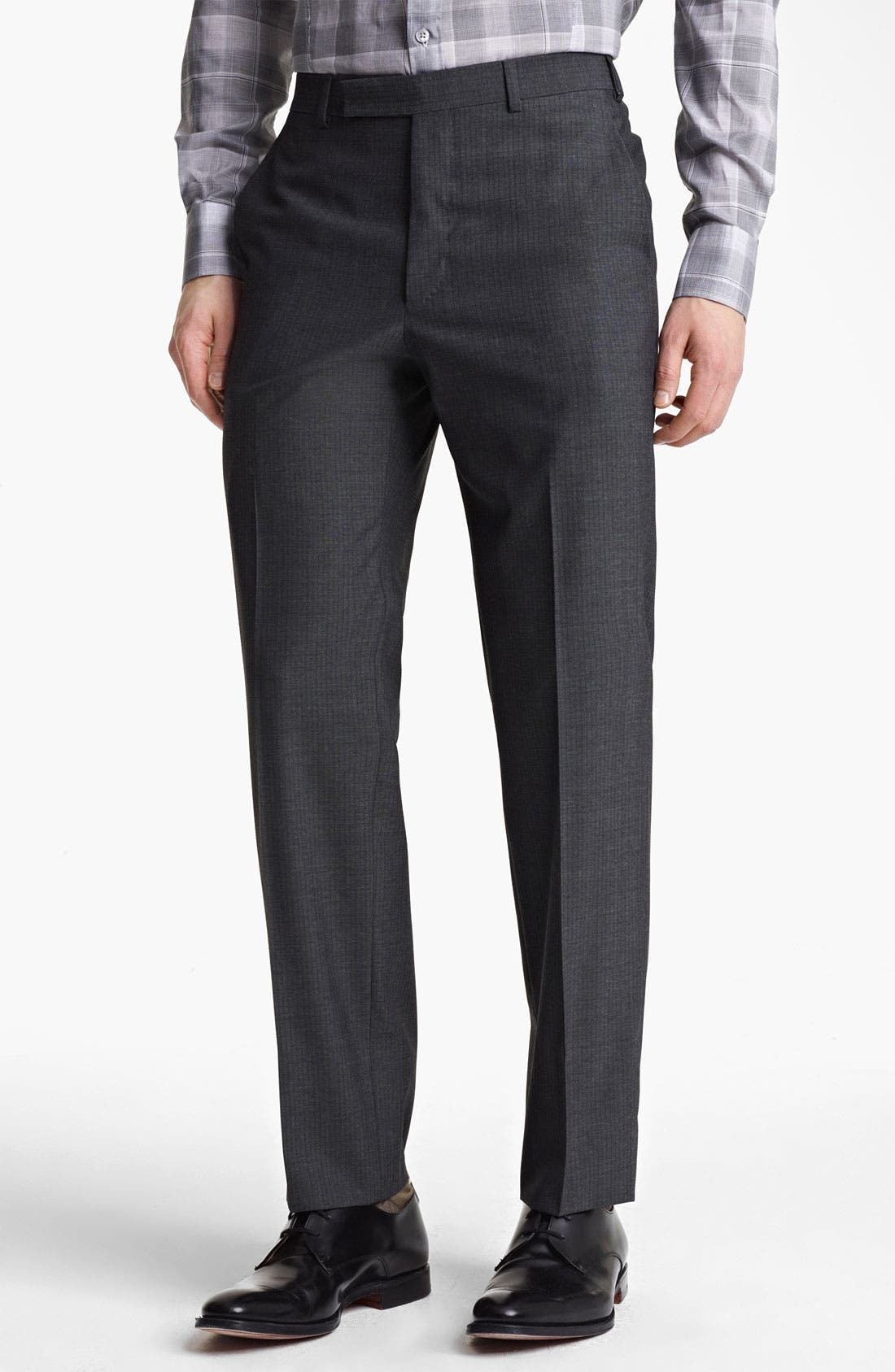 Alternate Image 4  - Z Zegna Trim Fit Wool Suit