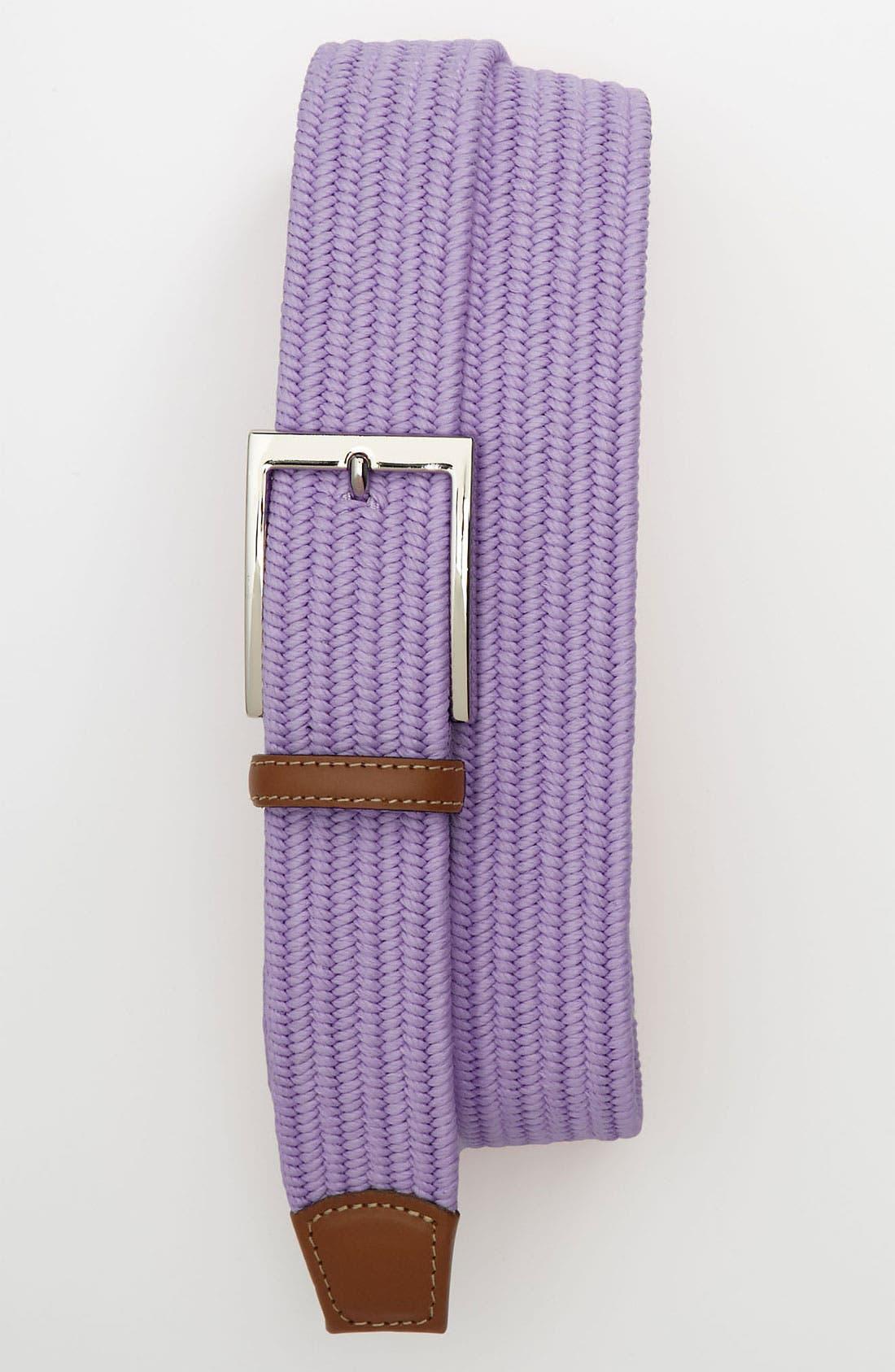 Alternate Image 1 Selected - Torino Belts Cotton Belt