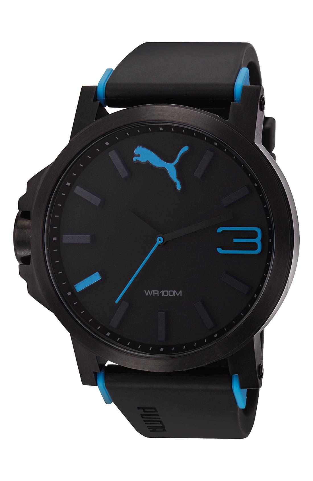 Alternate Image 1 Selected - PUMA 'Ultrasize' Watch, 50mm
