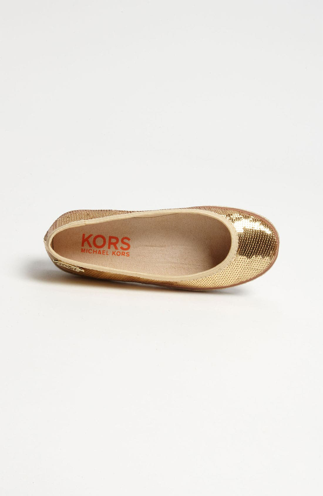 Alternate Image 3  - KORS Michael Kors 'Villa' Flat (Toddler, Little Kid & Big Kid)