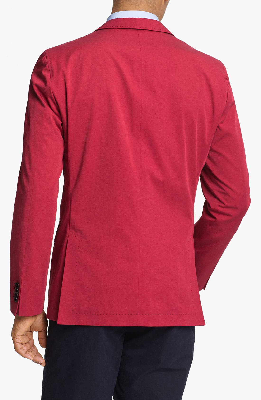 Alternate Image 2  - BOSS HUGO BOSS 'Miles' Trim Fit Cotton Blazer (Online Only)
