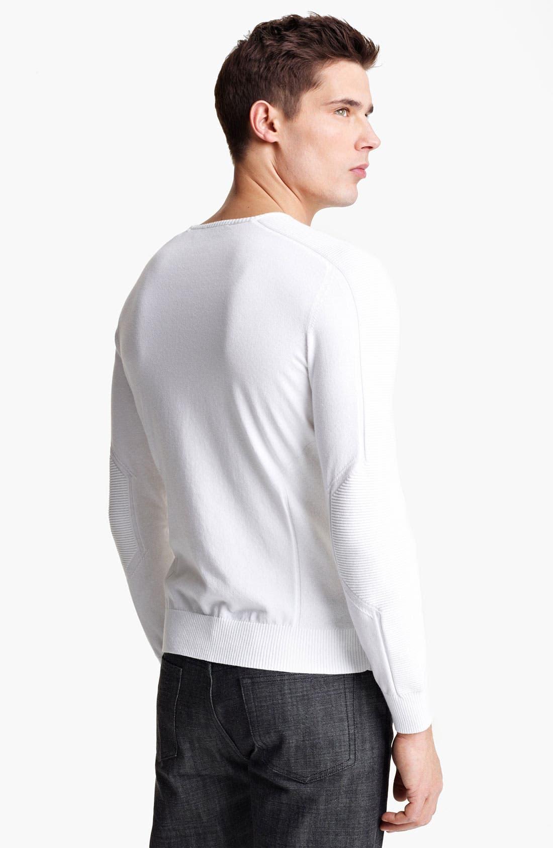 Alternate Image 2  - Zegna Sport Crewneck Sweater