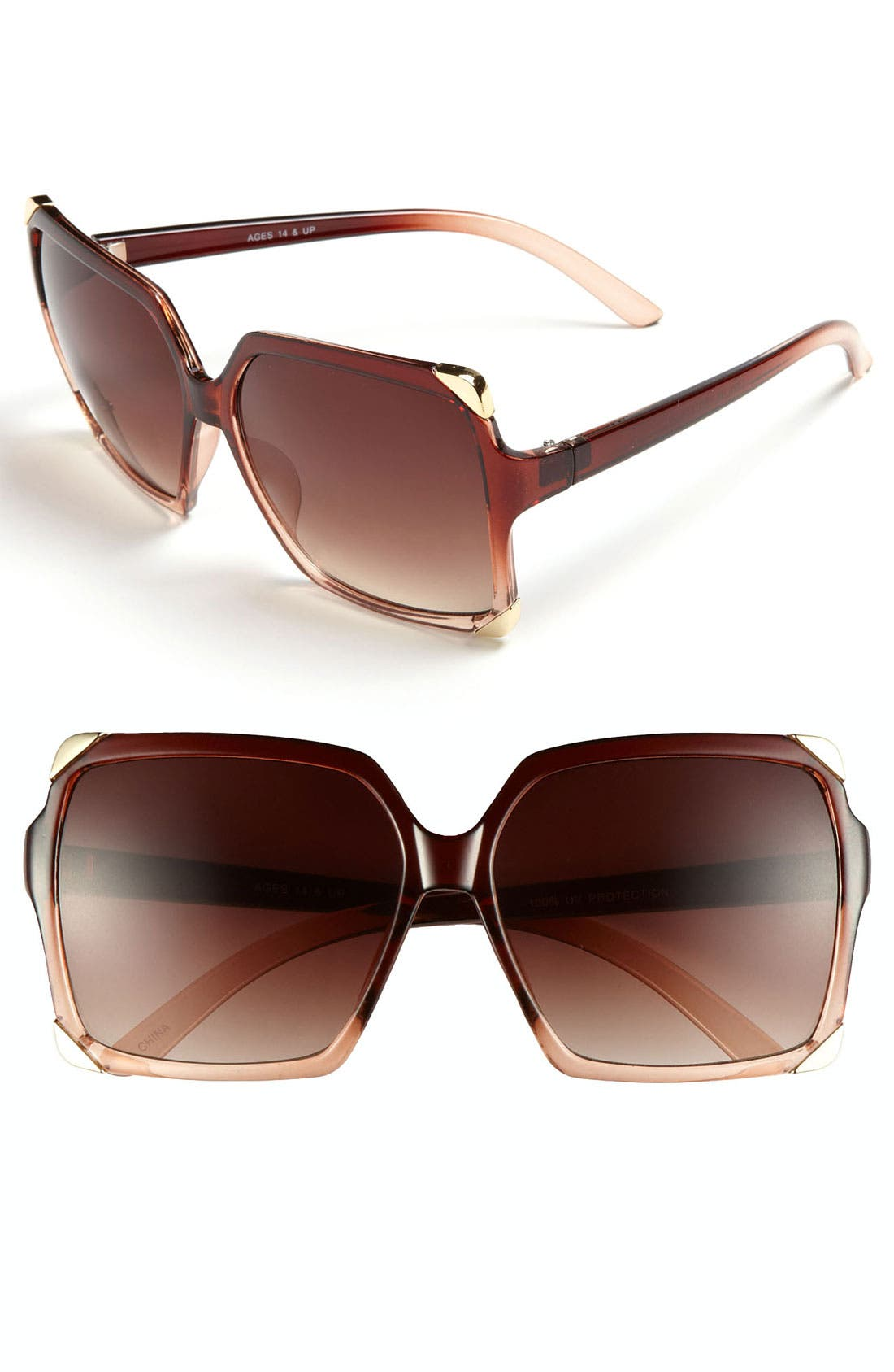 Alternate Image 1 Selected - FE NY 'St. Tropaz' Sunglasses