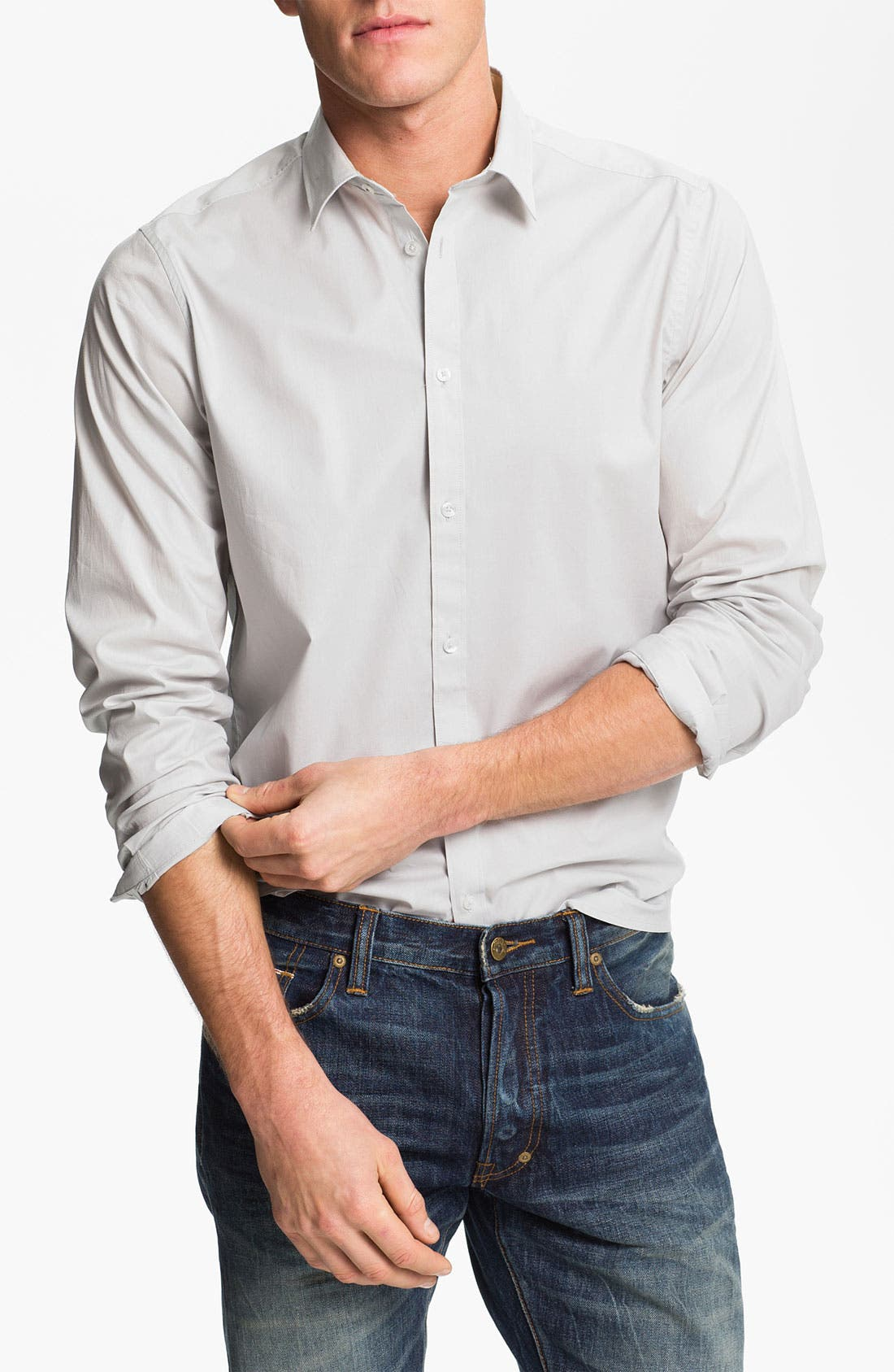 Alternate Image 1 Selected - Ben Sherman Poplin Shirt