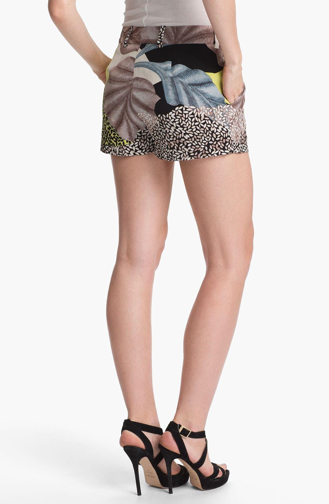 Alternate Image 2  - Diane von Furstenberg 'Naples' Silk Shorts