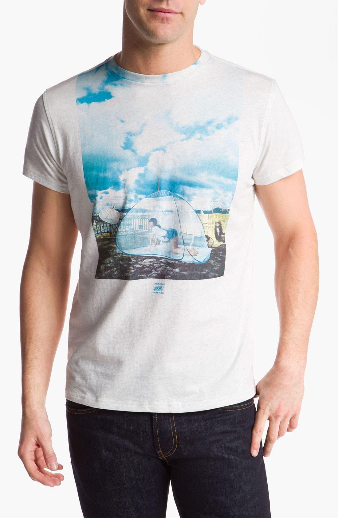 Alternate Image 1 Selected - 55DSL 'Jason Lewis' Graphic T-Shirt