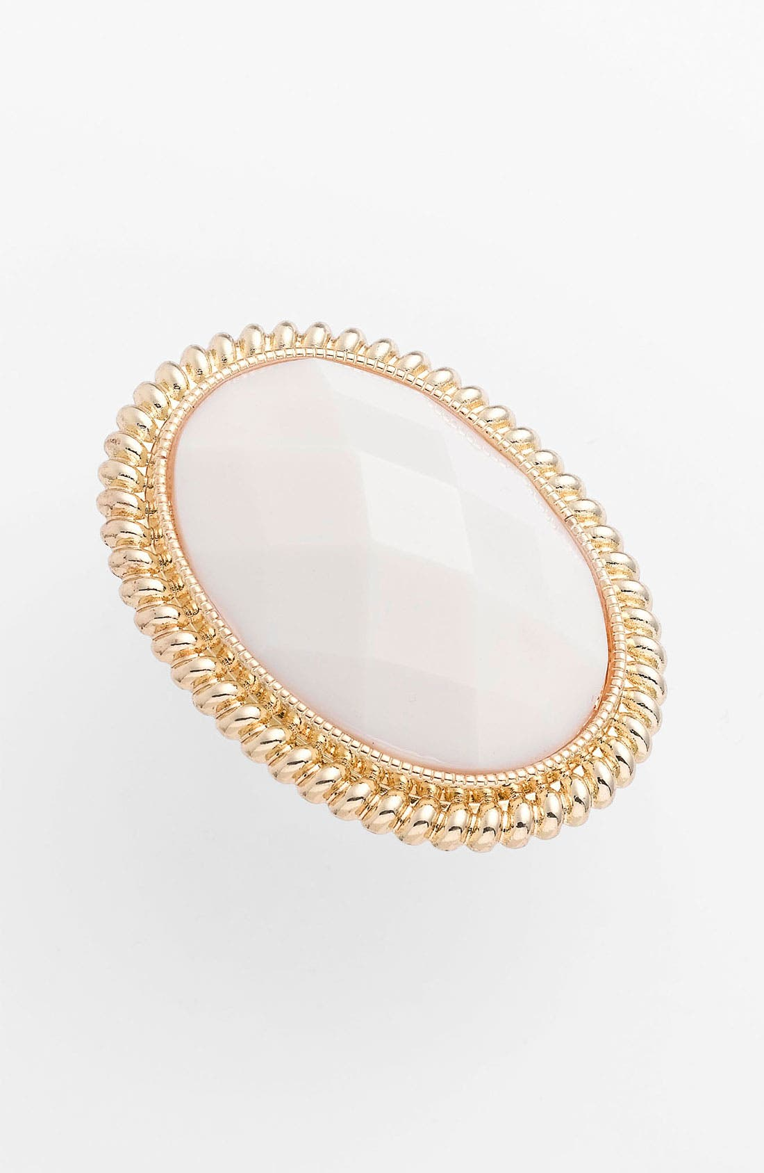 Alternate Image 1 Selected - Carole Framed Facet Statement Ring (Online Only)