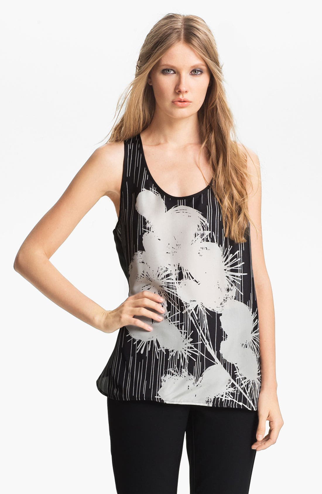 Alternate Image 2  - Miss Wu Floral Print Tank (Nordstrom Exclusive)