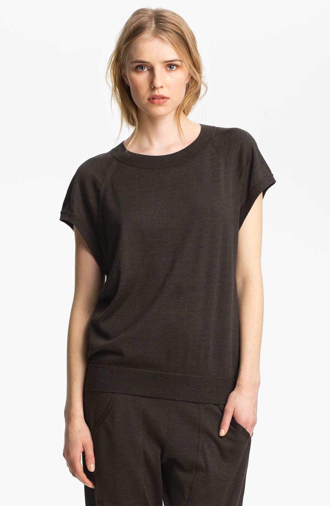 Alternate Image 2  - Theyskens' Theory 'Knug Yora' Short Sleeve Sweater