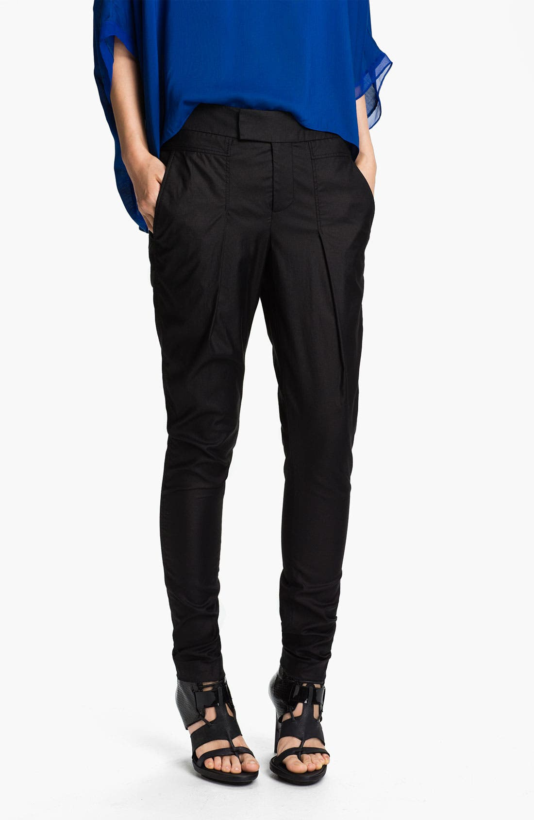 Main Image - Helmut Lang 'Lacquer' Trousers