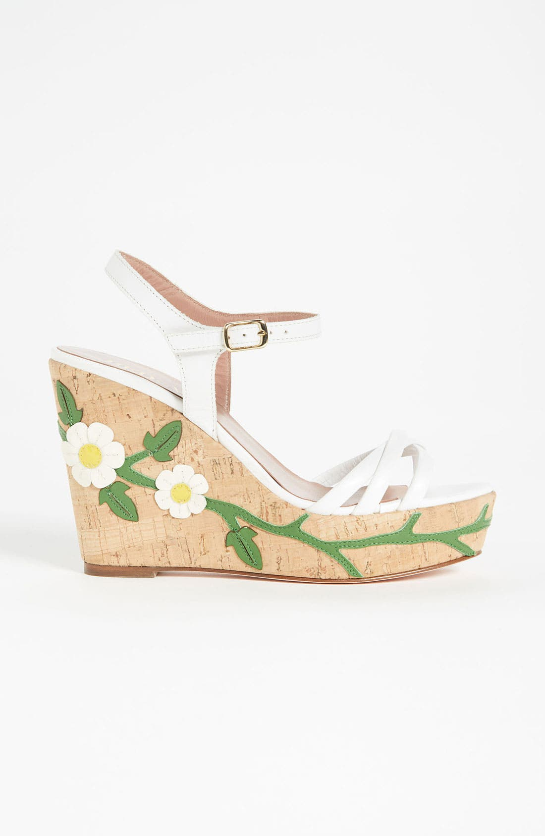 Alternate Image 4  - RED Valentino 'Daisy' Wedge Sandal