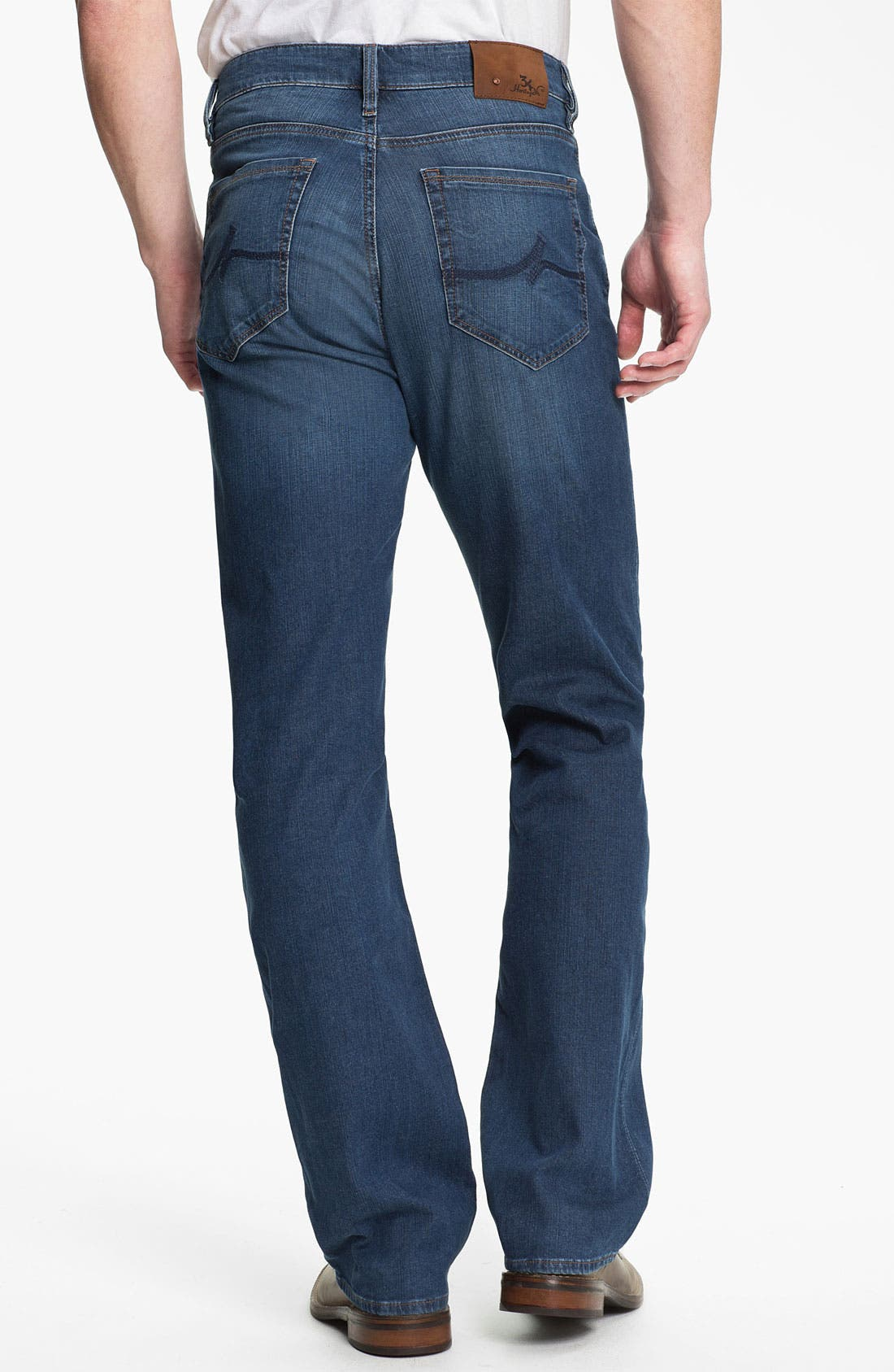 Alternate Image 2  - 34 Heritage 'Confidence' Relaxed Leg Jeans (Mid Cashmere) (Online Only)