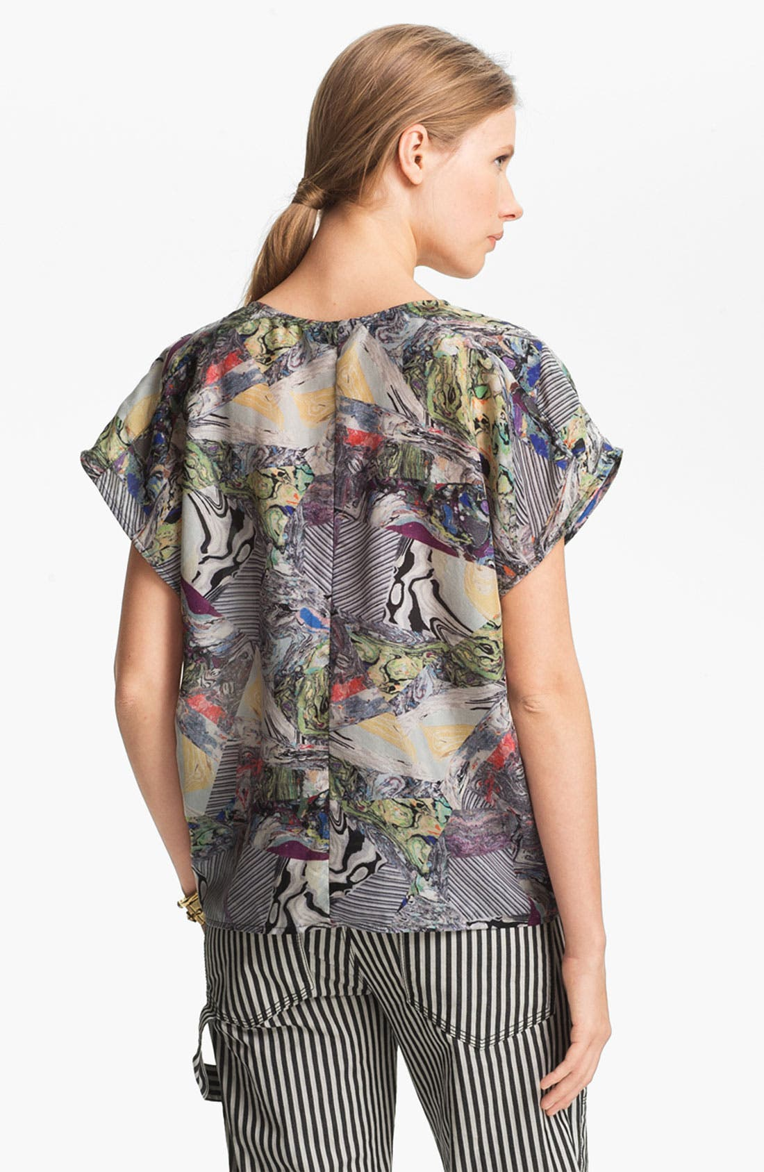 Alternate Image 3  - Kelly Wearstler 'Alchemy' Silk Top