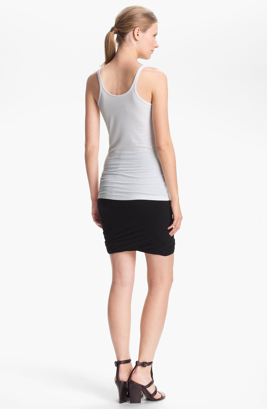Alternate Image 2  - T by Alexander Wang Stretch Knit Tank
