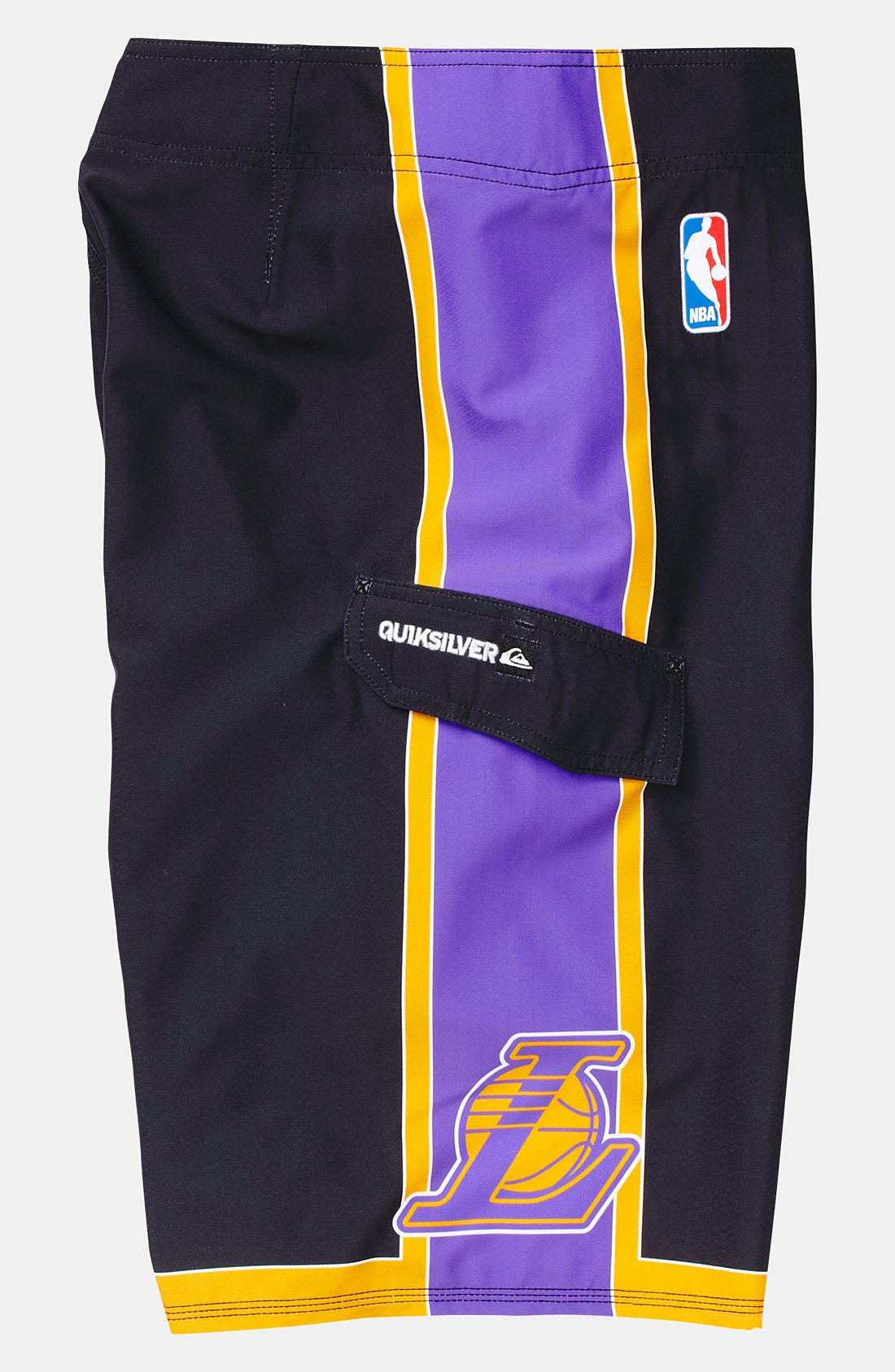 Alternate Image 4  - Quiksilver 'Lakers' Board Shorts (Big Boys)