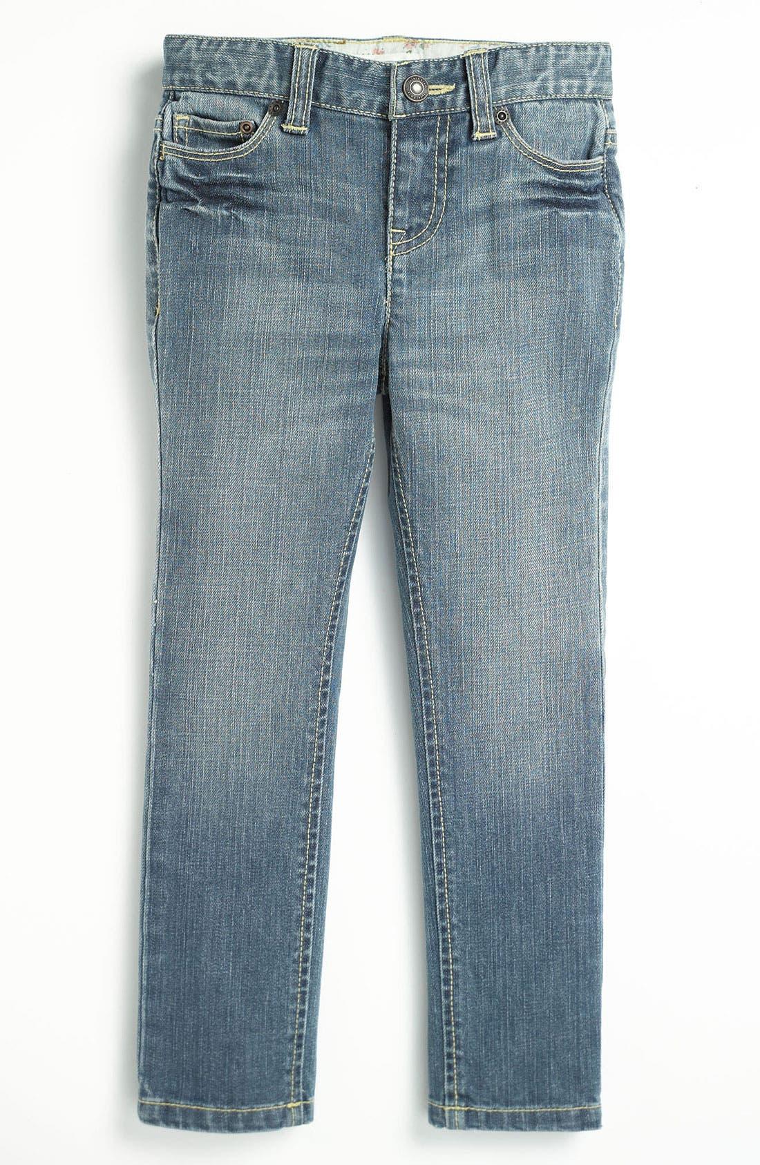 Alternate Image 2  - Tucker + Tate Skinny Jeans (Little Girls)