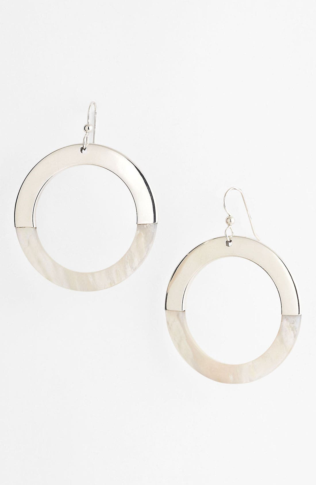 Alternate Image 1 Selected - Simon Sebbag 'Tahiti' Open Circle Shell Earrings
