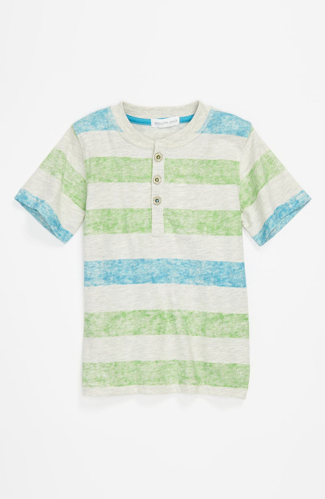 Main Image - Pumpkin Patch Stripe Shirt (Infant)