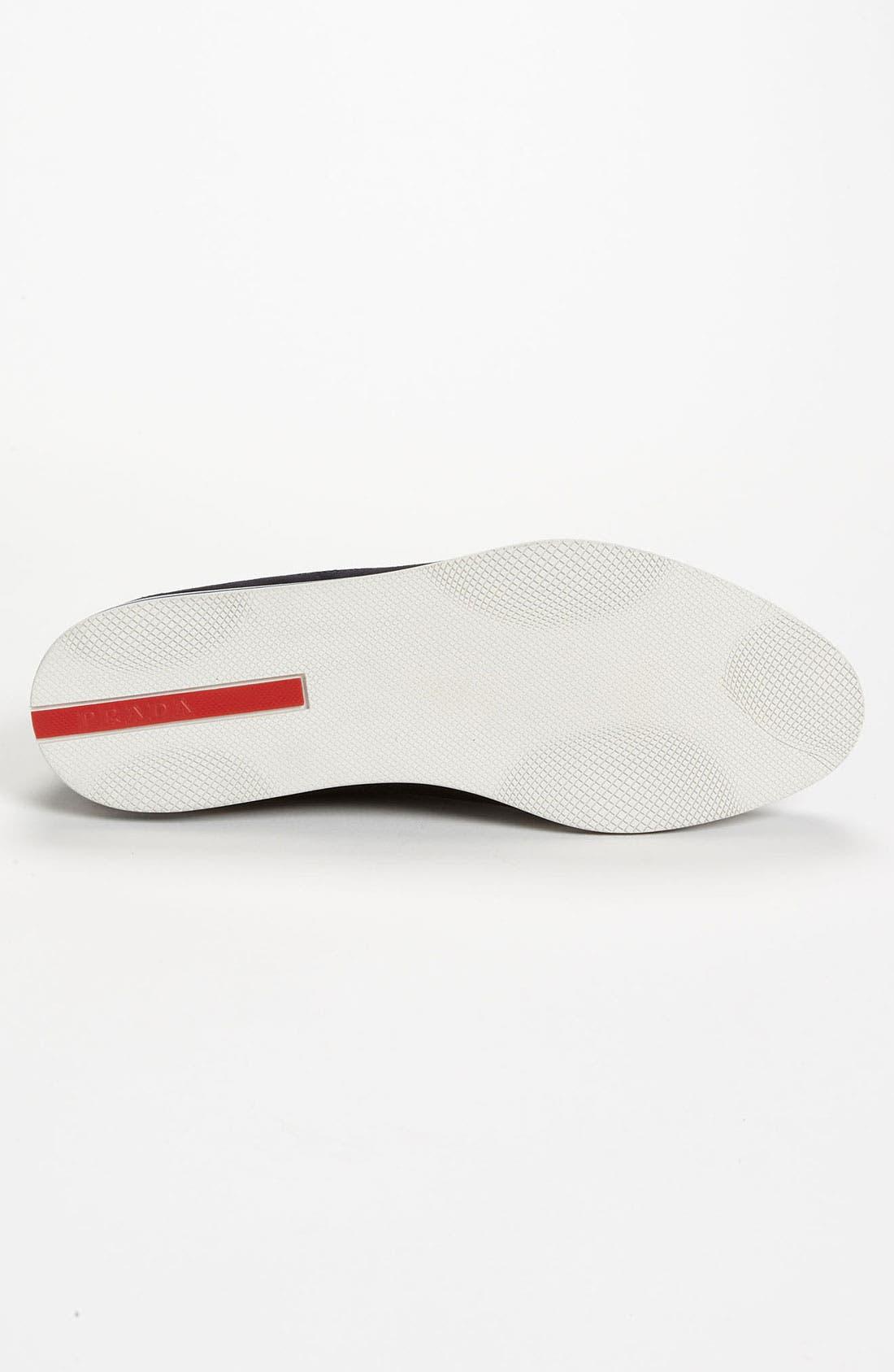 Alternate Image 4  - Prada Suede Loafer