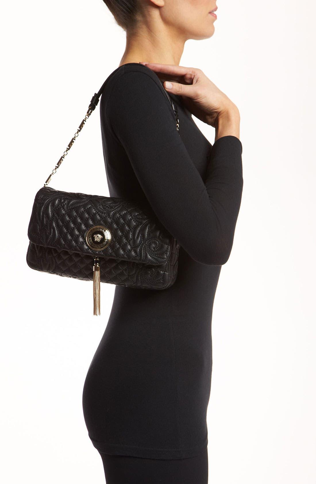 Alternate Image 2  - Versace 'Vanitas - Small' Embroidered Leather Shoulder Bag