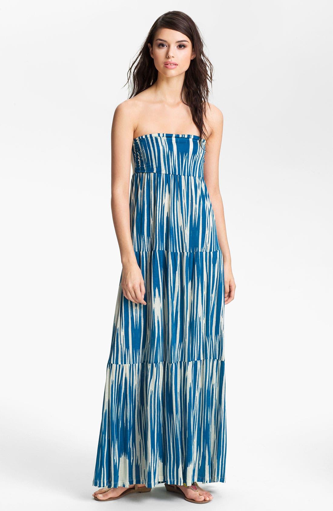 Alternate Image 1 Selected - Velvet by Graham & Spencer 'Atlantis' Tiered Strapless Maxi Dress