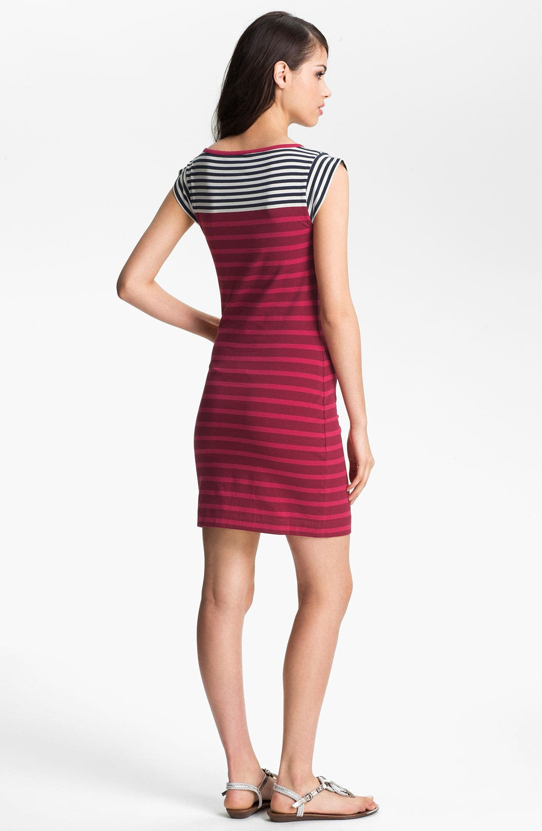 Alternate Image 2  - French Connection Stripe Knit Dress