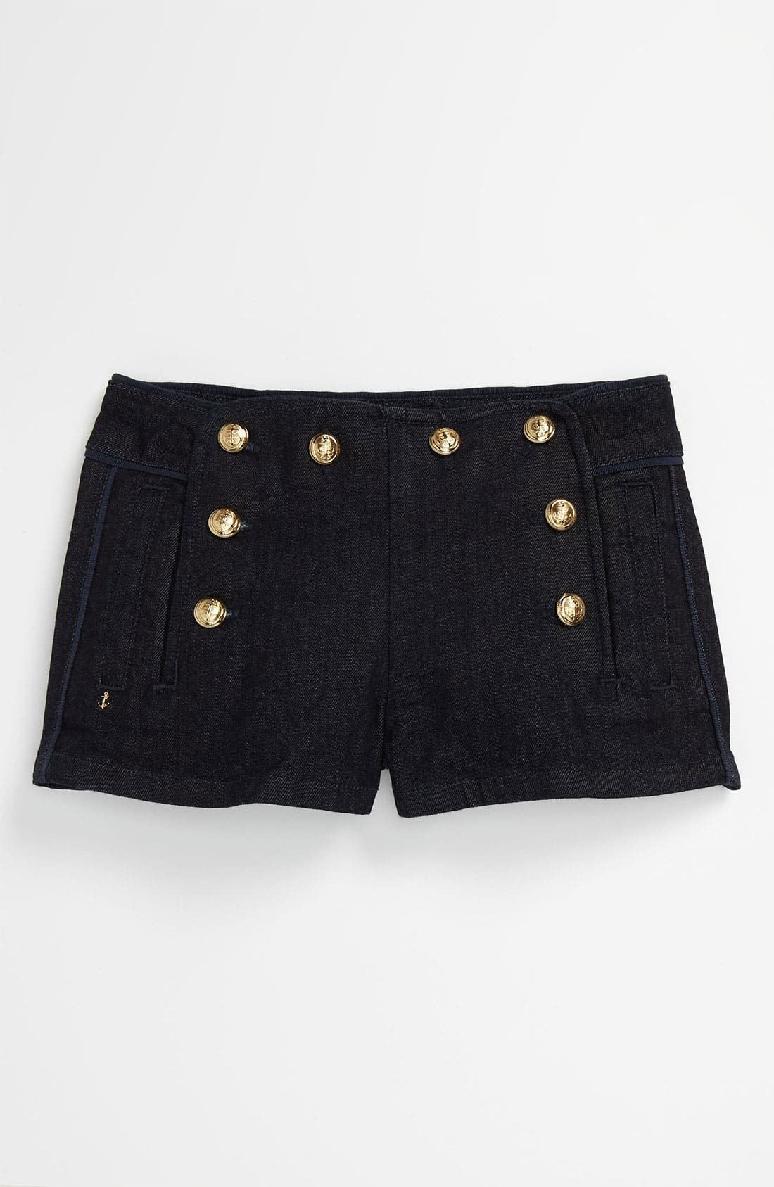 Main Image - Juicy Couture Sailor Shorts (Little Girls & Big Girls)