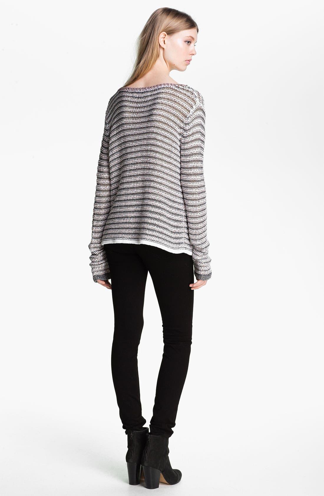 Alternate Image 4  - rag & bone 'Astrid' Pullover
