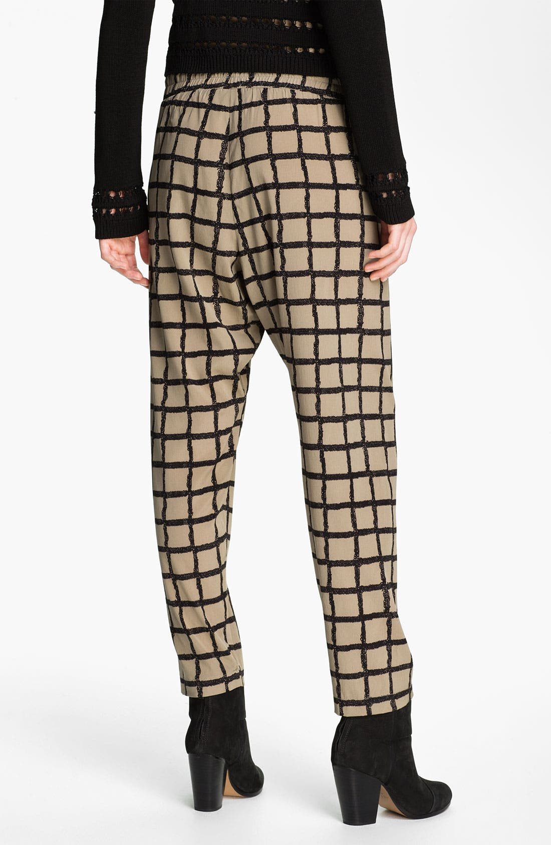 Alternate Image 2  - rag & bone Windowpane Silk Pants