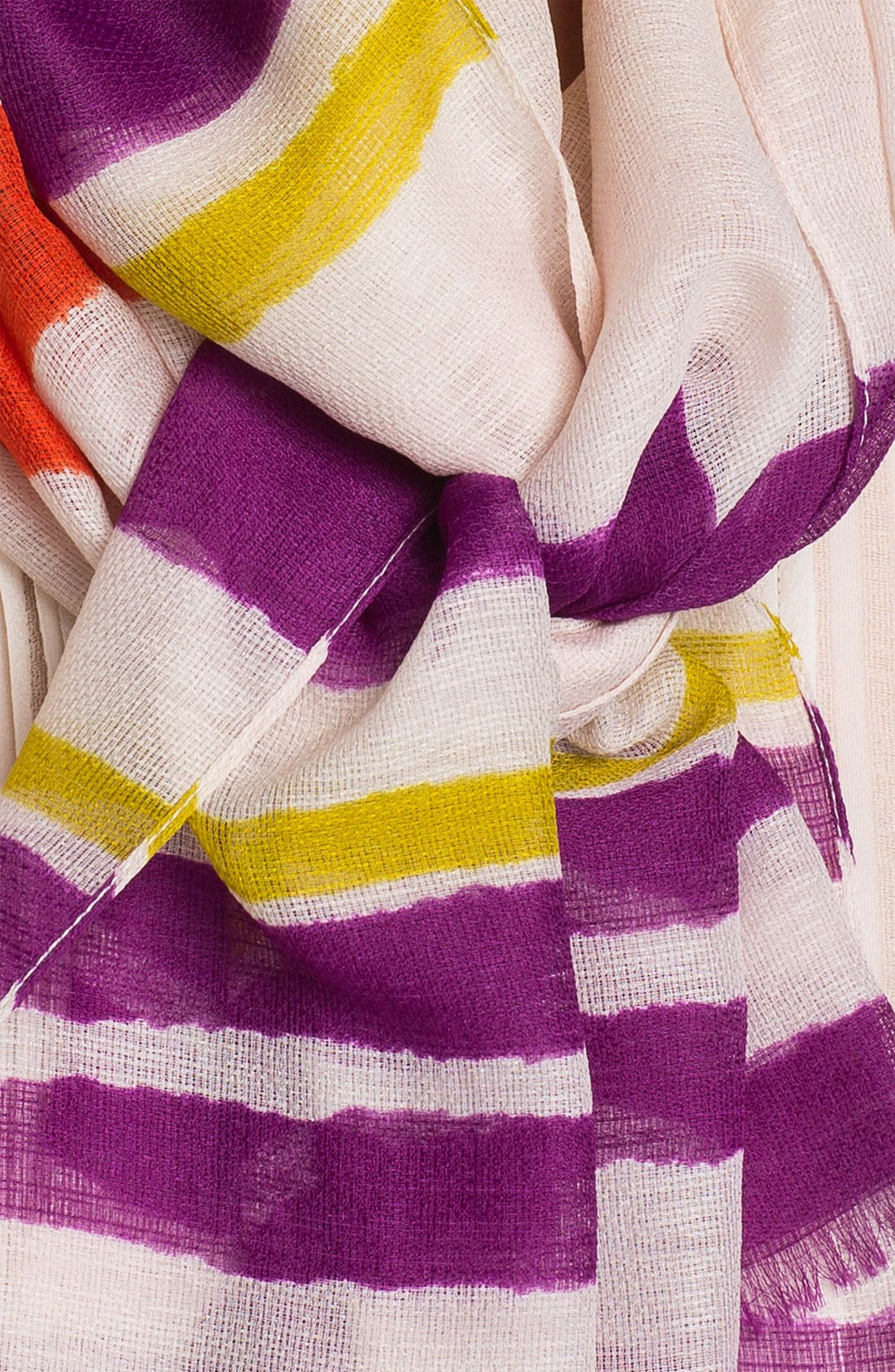 Alternate Image 2  - Nordstrom Stripe Scarf