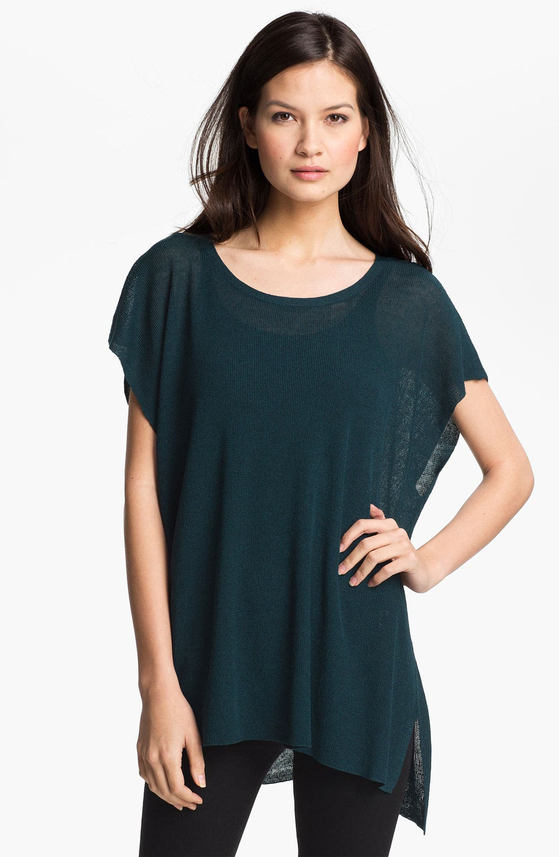 Alternate Image 1 Selected - Eileen Fisher Ballet Neck Tunic