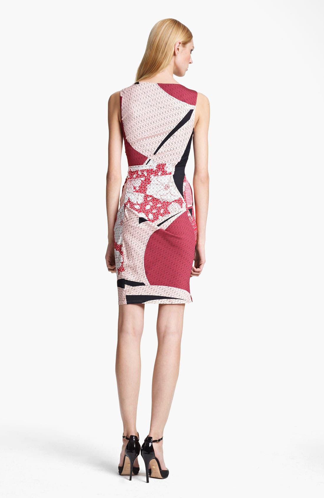 Alternate Image 2  - Emilio Pucci Elisse Print Ruched Dress