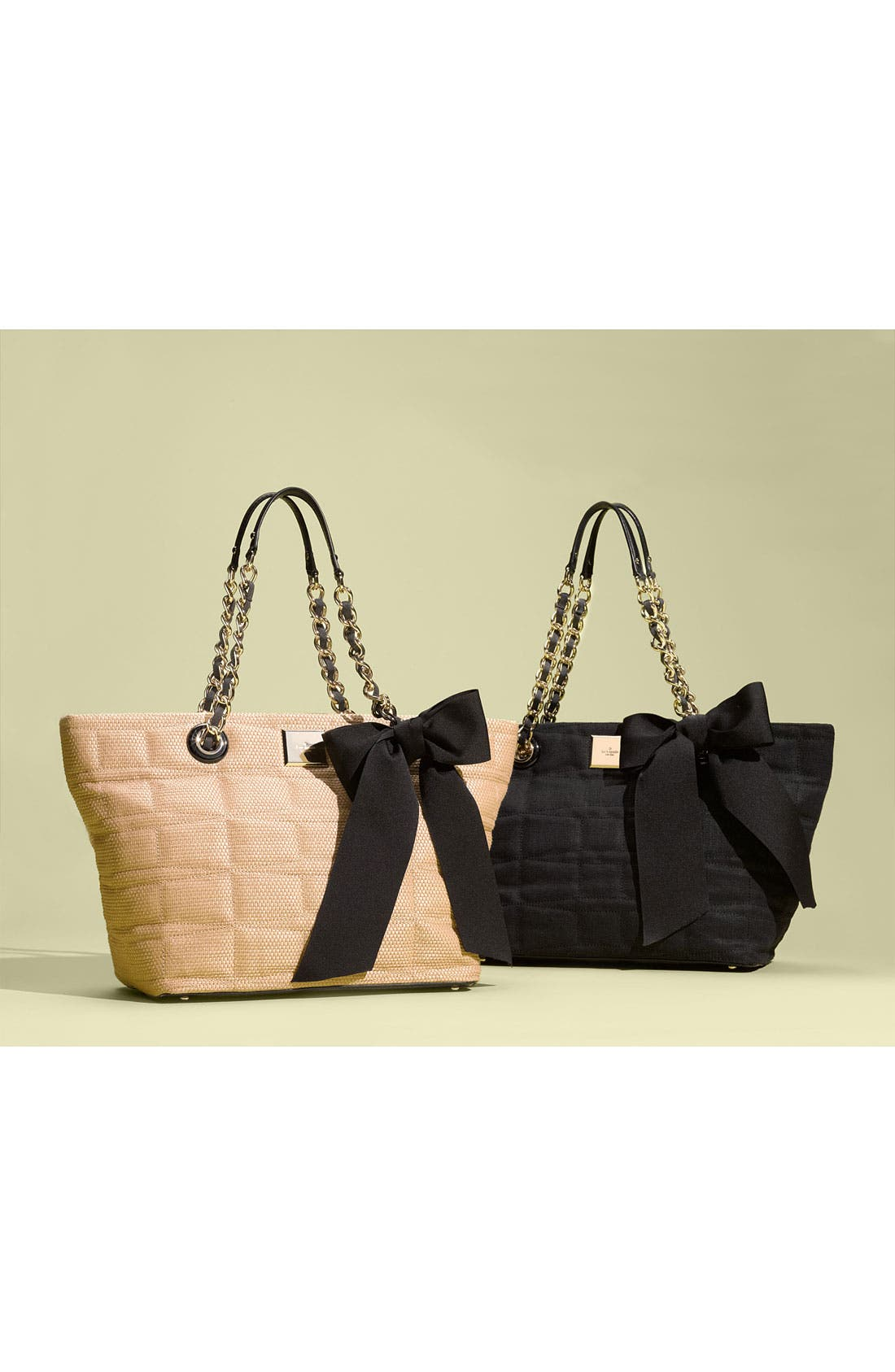 Alternate Image 5  - kate spade new york 'signature spade - small coal' shoulder bag