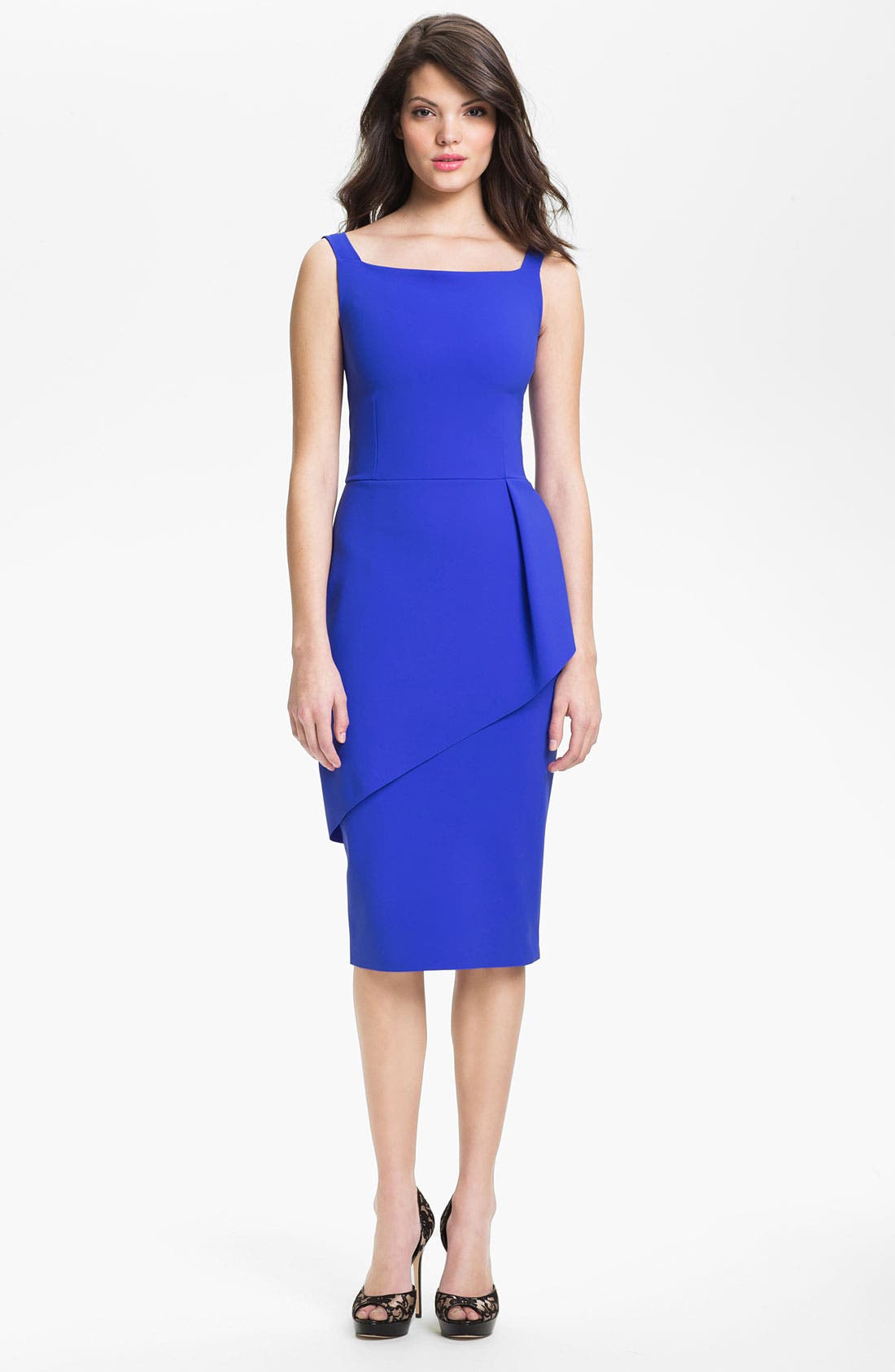 Main Image - La Petite Robe by Chiara Boni Layered Sheath Dress