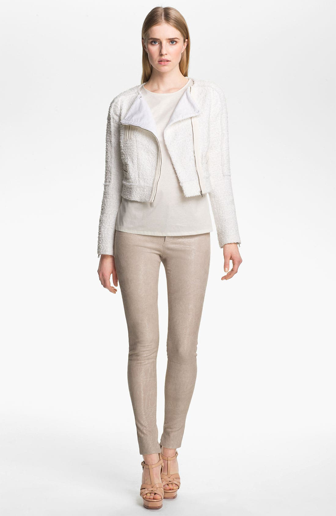 Alternate Image 3  - J Brand Ready-to-Wear 'Bette' Textured Leather Pants