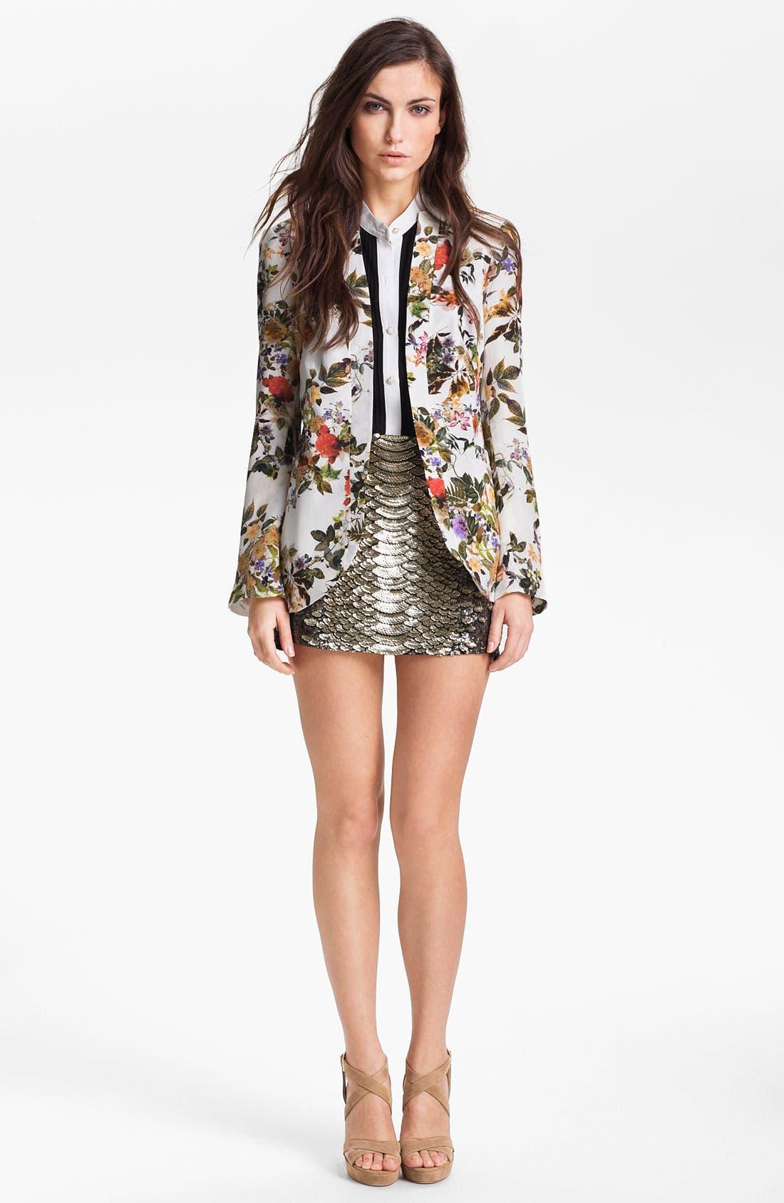Alternate Image 3  - Haute Hippie Sequin Miniskirt
