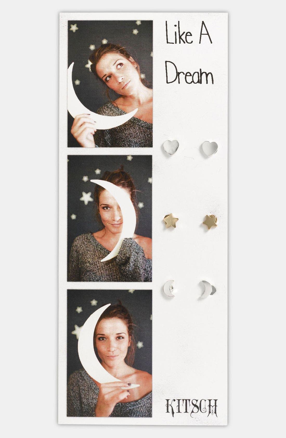 Main Image - Kitsch 'Like a Dream' Earrings (Set of 3)