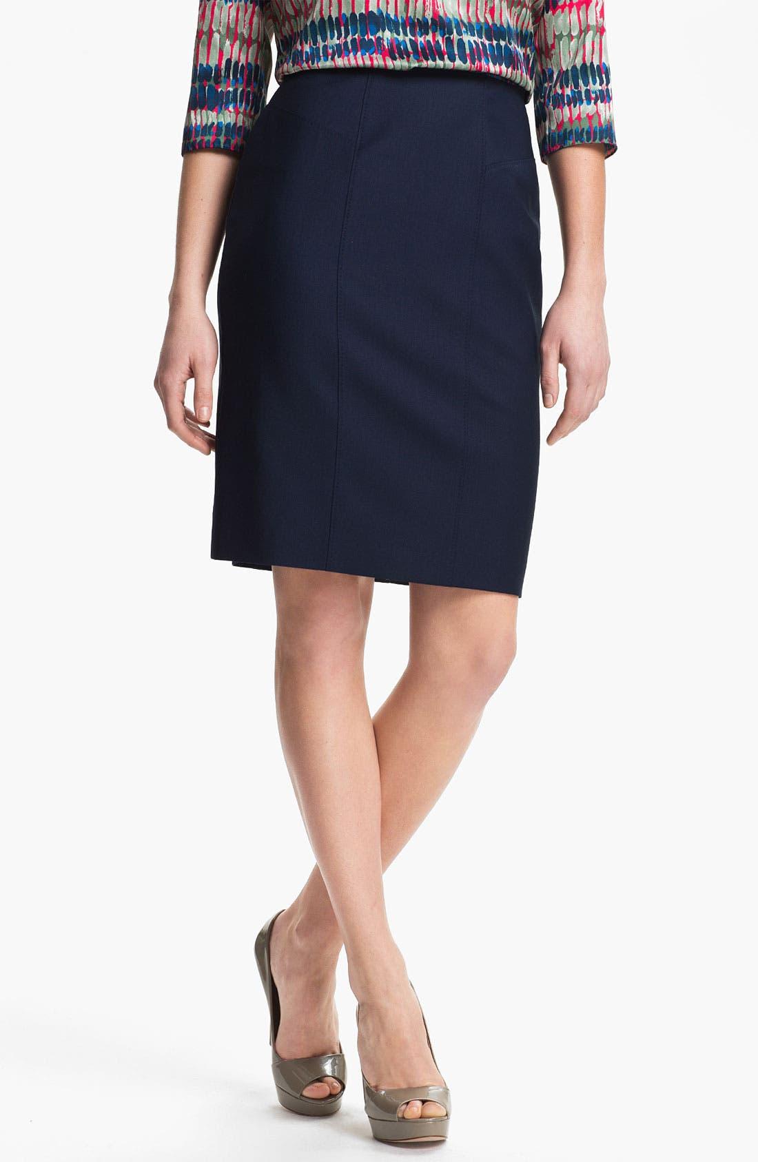 Alternate Image 1 Selected - BOSS Black 'Vilonie' Skirt