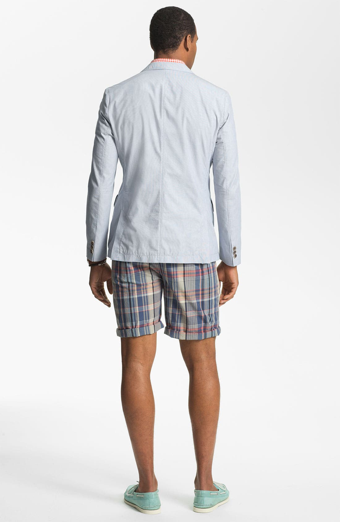 Alternate Image 3  - W.R.K 'Gibson' Flat Front Shorts