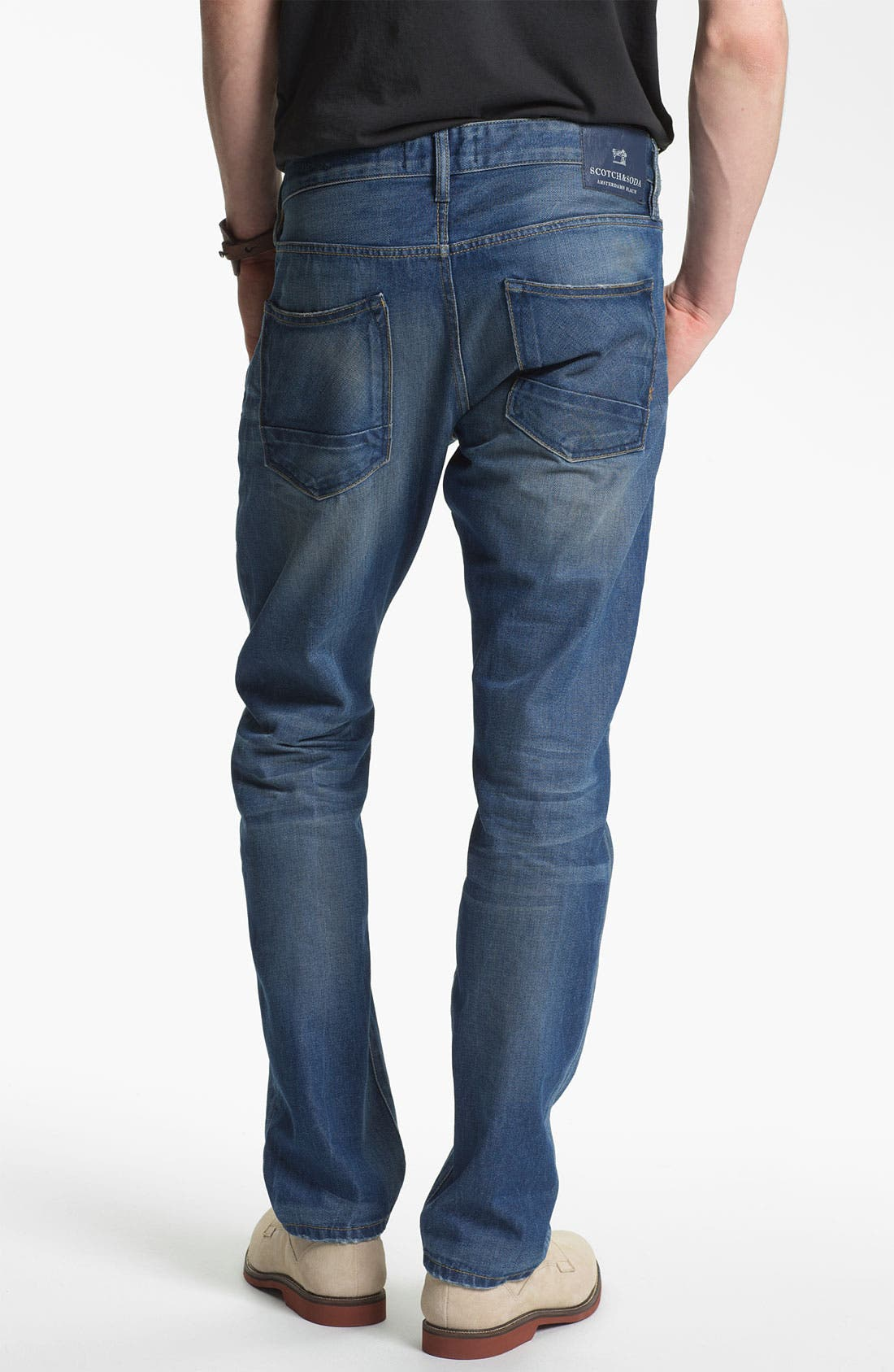 Main Image - Scotch & Soda 'Ralston' Slim Straight Leg Jeans (Trump Town)