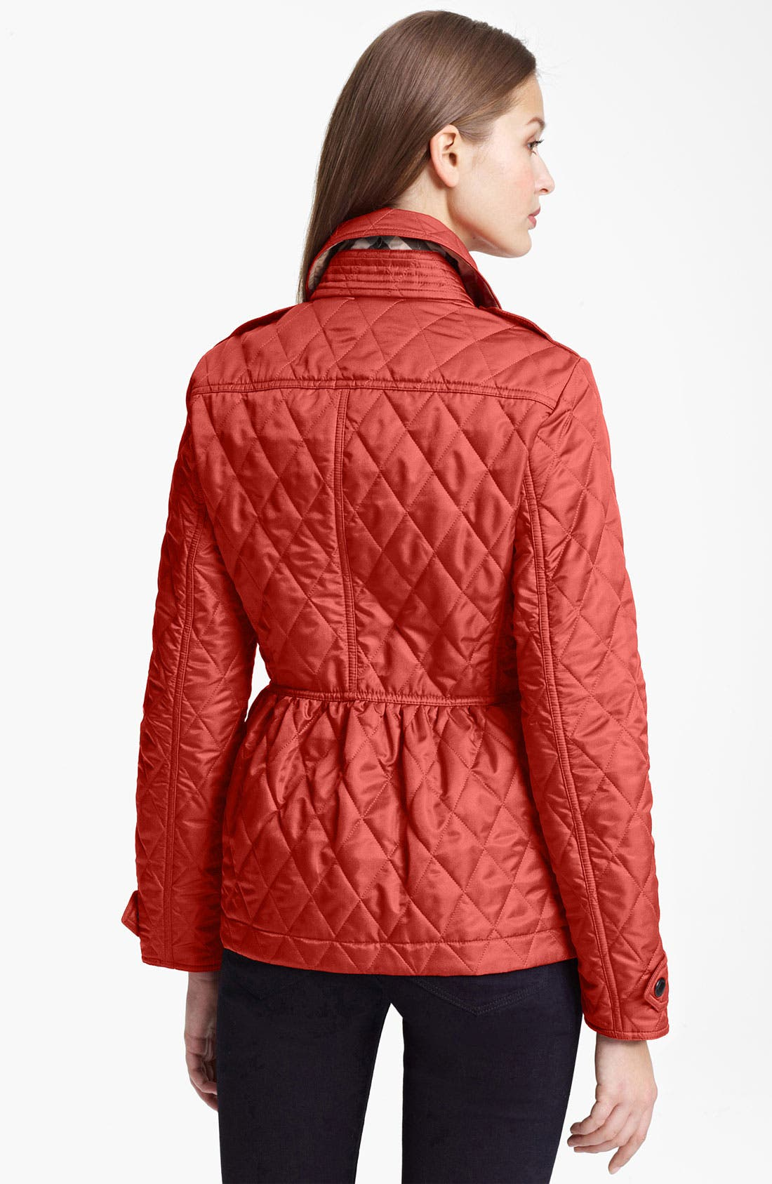 Alternate Image 2  - Burberry Brit 'Oakleigh' Quilted Jacket (Online Exclusive)
