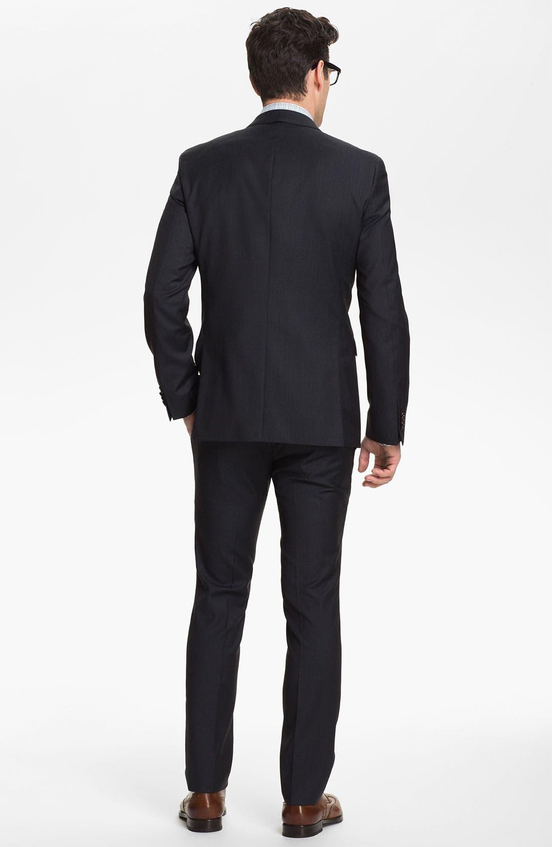 Alternate Image 3  - BOSS HUGO BOSS 'Ryan/Win' Extra Trim Fit Suit