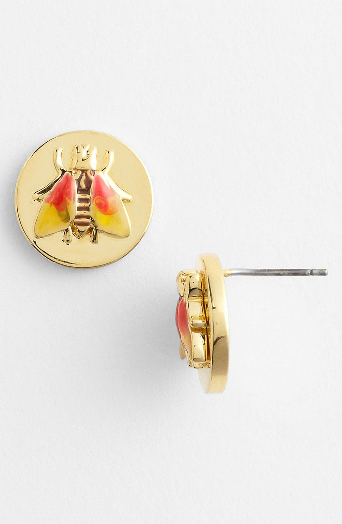 Main Image - Tory Burch 'Buddy' Stud Earrings