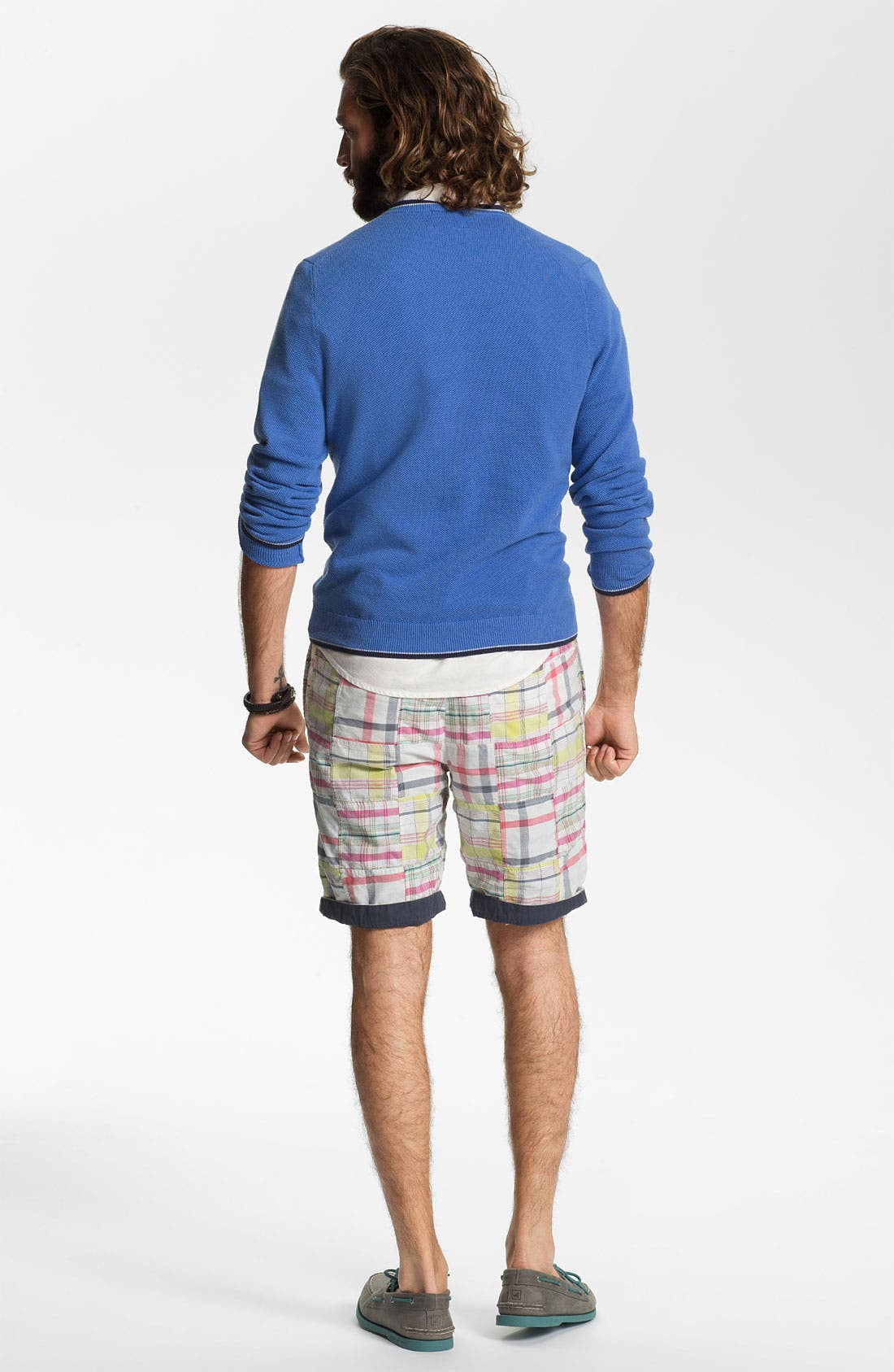 Alternate Image 5  - Brooks Brothers V-Neck Supima® Cotton Sweater