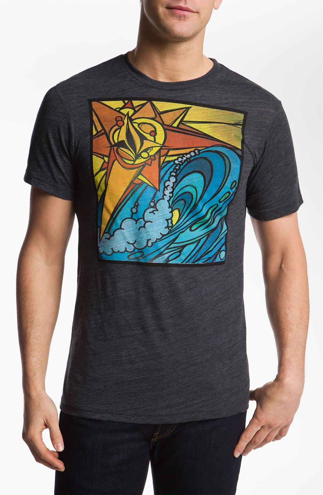 Alternate Image 1 Selected - Volcom 'St. Bart's Mural' Graphic T-Shirt