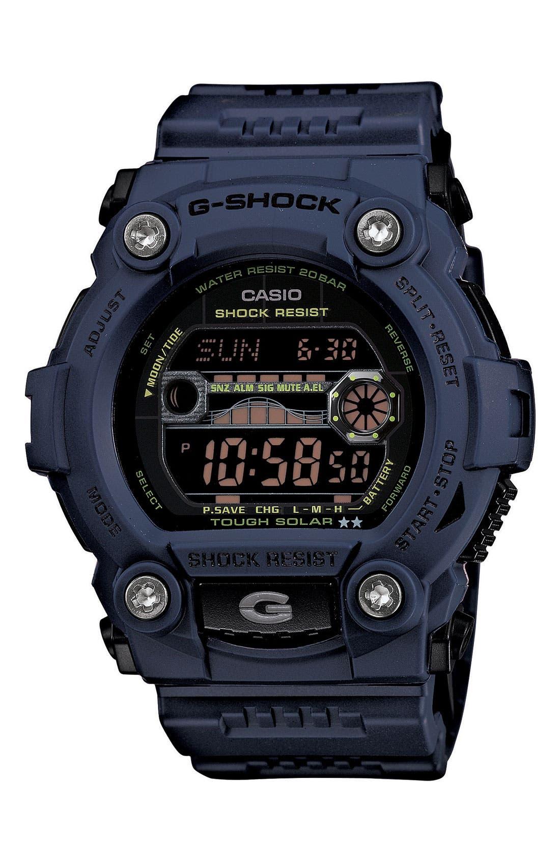 Main Image - G-Shock 'Solar Atomic G Rescue' Watch, 50mm