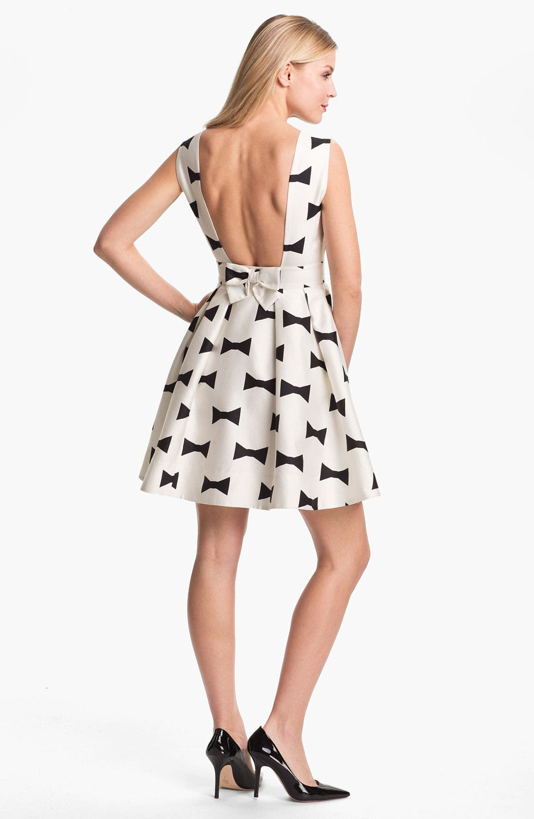 Alternate Image 2  - kate spade new york 'marilyn' fit & flare dress