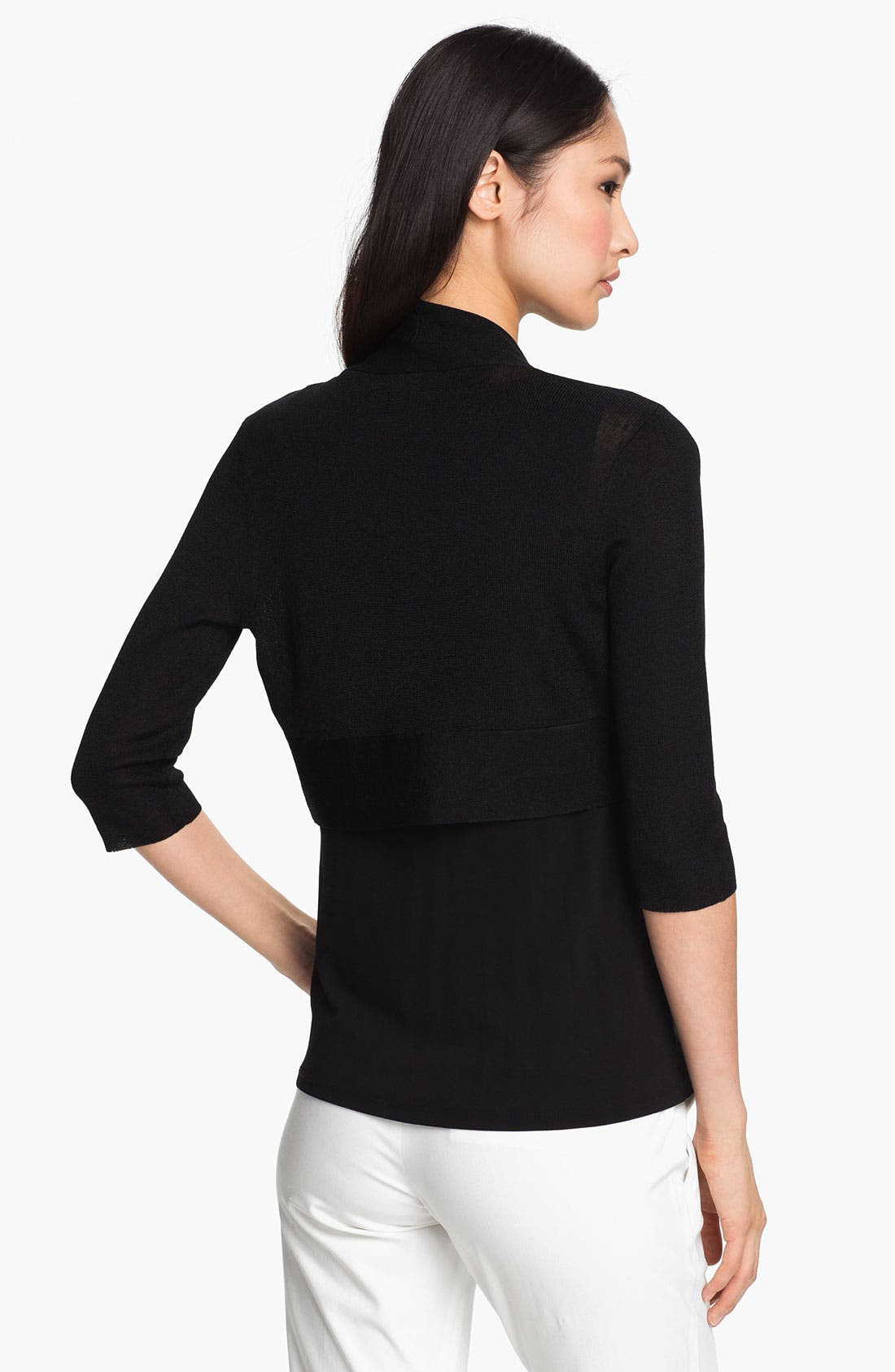 Alternate Image 2  - Eileen Fisher Open Shrug (Regular & Petite)