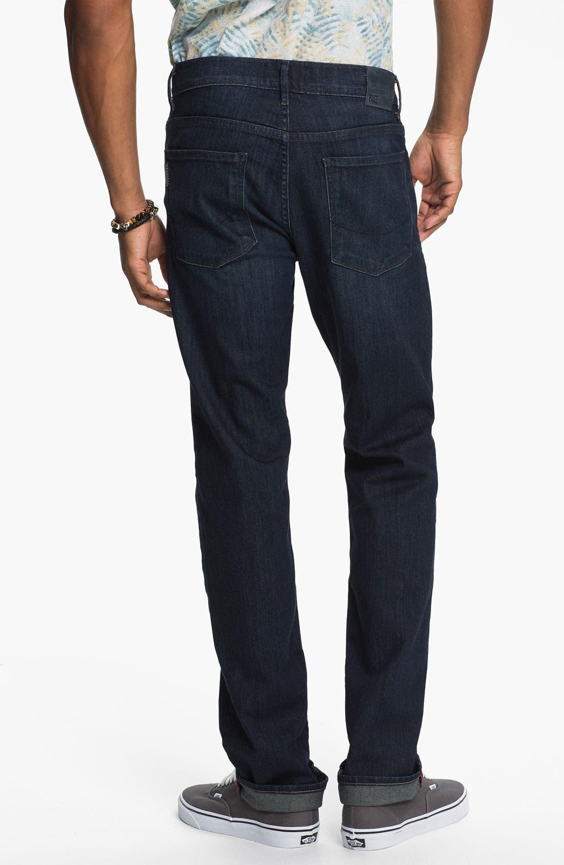 Main Image - PAIGE 'Federal' Slim Straight Leg Jeans (Stingray)