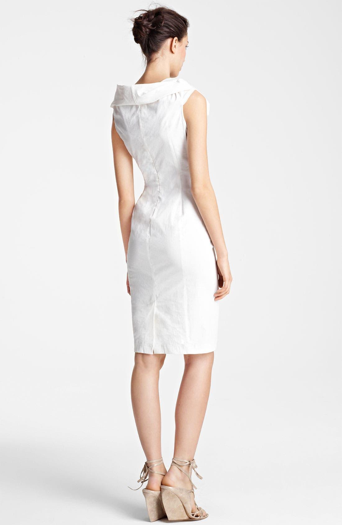 Alternate Image 2  - Donna Karan Collection Canvas Dress
